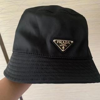 PRADA - ★PRADA★UNISEXロゴ バケットハット