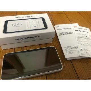 SAMSUNG - SAMSUNG Galaxy 5G Mobile Wi-Fi SCR01