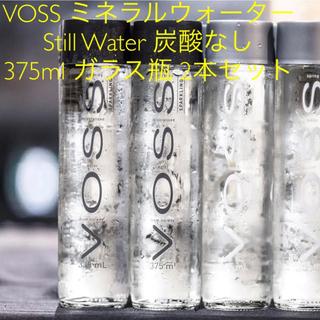 ディーンアンドデルーカ(DEAN & DELUCA)のVOSS ウォーター / still water 正規代理店購入 375ml(ミネラルウォーター)