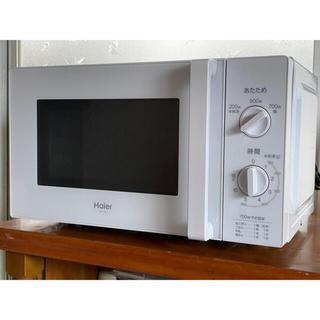 ハイアール(Haier)のハイアール 単機能電子レンジ【西日本用】 JM-17H-60(W) ホワイト(電子レンジ)