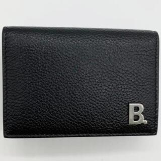 Balenciaga - 【新品・未使用品】BALENCIAGA B. ロゴ ミニウォレット ミニ財布