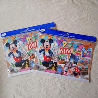 ミッキーマウス(ミッキーマウス)のTDR 限定品 ディズニーカレンダー壁掛け2022セット(カレンダー/スケジュール)