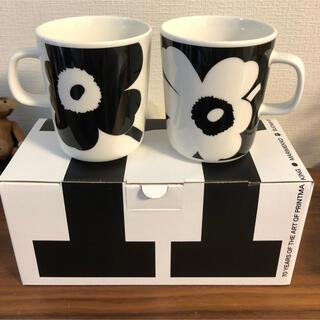 marimekko - マリメッコ  創立70周年アニバーサリーコレクション  マグカップセット