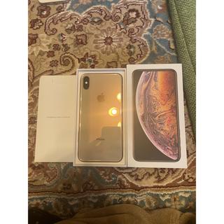 アップル(Apple)のiPhone XS MAX ゴールド GOLD 256GB SIMフリー(スマートフォン本体)