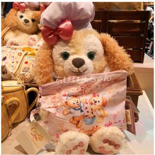 ダッフィー(ダッフィー)の香港ディズニーランド♥ダッフィー クッキーアン 折りたたみ傘♥ピンク(傘)
