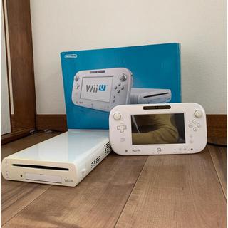 ウィーユー(Wii U)の任天堂WiiU本体セット Nintendo Wii U 動作確認済み(家庭用ゲーム機本体)