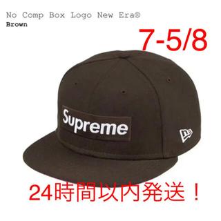シュプリーム(Supreme)のSupreme No Comp Box Logo New Era 7-5/8(キャップ)