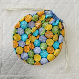 巾着袋 給食袋 ハンドメイド(外出用品)