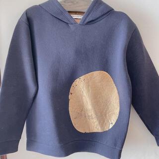 コドモビームス(こどもビームス)のウルフアンドリタ ふかふか 箔プリント パーカー 8歳(Tシャツ/カットソー)