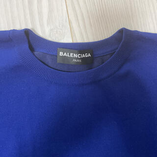 Balenciaga - バレンシアガ ロイヤルブルーニット