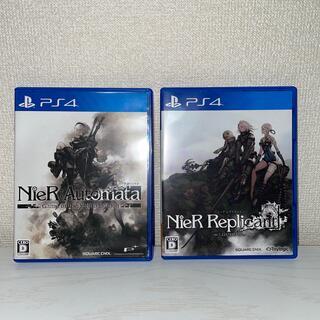 プレイステーション4(PlayStation4)のニーアレプリカント&ニーアオートマタのセットPS4(家庭用ゲームソフト)
