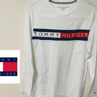 トミーヒルフィガー(TOMMY HILFIGER)のTOMMY HILFIGER トミーヒルフィガー 長袖シャツ サイズS(Tシャツ/カットソー(七分/長袖))