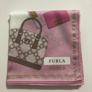 Furla - FURLA ハンカチ ピンク