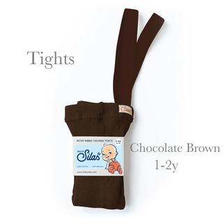 コドモビームス(こども ビームス)のSILLY Silas タイツ チョコレートブラウン 1-2y(パンツ)