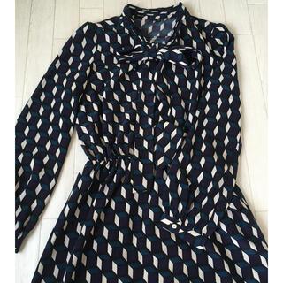 DOUBLE STANDARD CLOTHING - sov. ボウタイワンピース