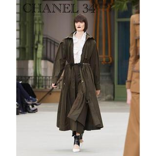 シャネル(CHANEL)のCHANEL 近年 コート試着のみ 34 定価82万(ロングコート)