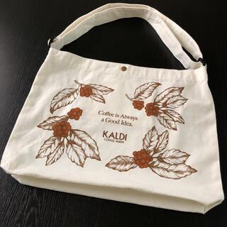 KALDI - KALDI カルディ ワンショルダートート バッグ トートバッグ コーヒーの日