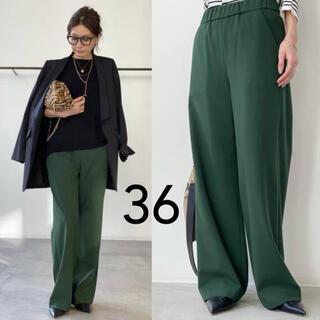 L'Appartement DEUXIEME CLASSE - 【RAWTUS/ロゥタス】キモウ Relax Pants 36 グリーン