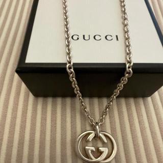 Gucci - グッチ シルバーネックレス インターロッキングG  GUCCI