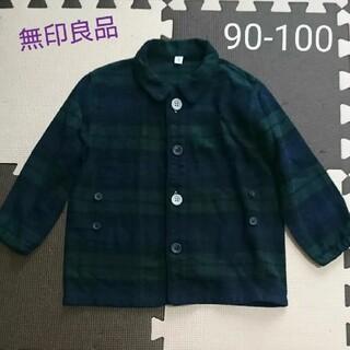 ムジルシリョウヒン(MUJI (無印良品))の無印良品 良品計画 アウター ネルシャツ 90-100(ジャケット/上着)