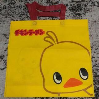 チキンラーメン ひよこちゃん 不織布 トートバッグ(ノベルティグッズ)