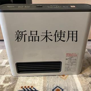 ノーリツ(NORITZ)の新品未使用 ガスファンヒーター ガスホース付き(ファンヒーター)