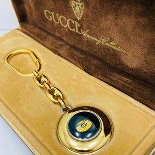 グッチ(Gucci)の美品 GUCCI オールドグッチ キーホルダー ヴィンテージ バッグチャーム(キーホルダー)
