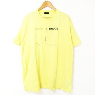 RAF SIMONS - RAF SIMONS 美品 18AW DRUGS TEE Tシャツ 半袖 XL