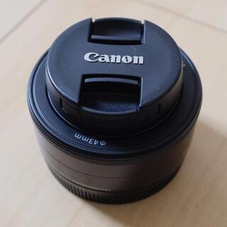 Canon - キヤノン ミラーレス用単焦点レンズ EF-M22mm/F2.0STMブラック中古