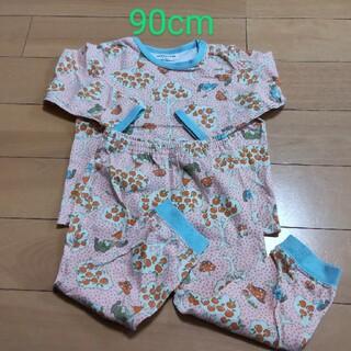 アンパサンド(ampersand)のベビー服 90cm 長袖パジャマ 上下セット(パジャマ)