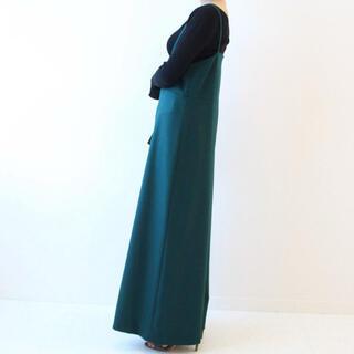 ノーブル(Noble)のNoble キャミソール サロペット 美品 綺麗色 グリーン ノーブル(サロペット/オーバーオール)