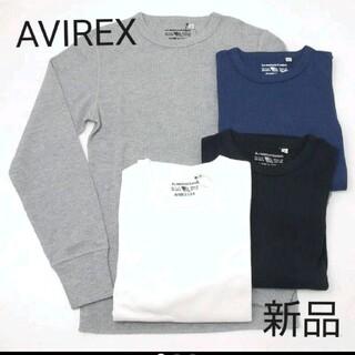 アヴィレックス(AVIREX)の即購入禁止 AVIREX デイリー サーマル長袖Tシャツ クルー 送料無料(Tシャツ/カットソー(七分/長袖))