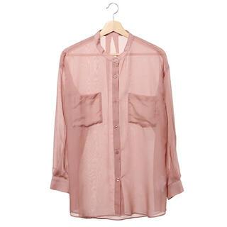 イング(INGNI)の新品未使用⭐️INGNI シアーバンドカラーシャツ(シャツ/ブラウス(長袖/七分))