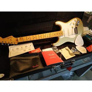 フェンダー(Fender)のフェンダー Lincoln Brewster Stratocaster ゴールド(エレキギター)