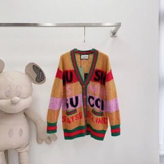 Gucci - 【100周年記念】GUCCIグッチ ◇ ブラッシュドモヘアカーディガン