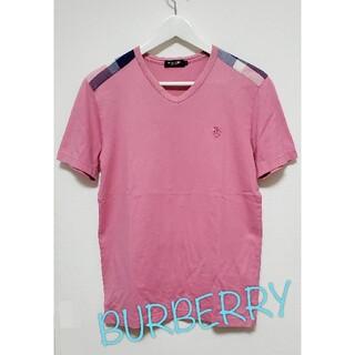 バーバリーブラックレーベル(BURBERRY BLACK LABEL)の【2】バーバリーブラックレーベル 半袖 Tシャツ(Tシャツ/カットソー(半袖/袖なし))
