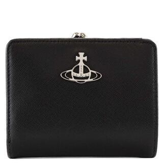 Vivienne Westwood - ヴィヴィアンウエストウッド 二つ折り財布 51010020 ブラック