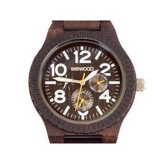 ヴィヴィアンウエストウッド(Vivienne Westwood)のWEWOOD メンズ腕時計 9818102 KARDO チョコ×ホワイト(腕時計(アナログ))
