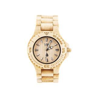 ヴィヴィアンウエストウッド(Vivienne Westwood)のWEWOOD 腕時計 9818025 DATE BEIGE ベージュ (腕時計(アナログ))