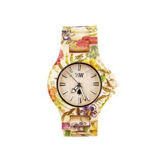 ヴィヴィアンウエストウッド(Vivienne Westwood)のWEWOOD 腕時計 9818035 DATE FLOWER BEIGE(腕時計(アナログ))