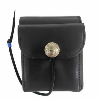 ゴローズ(goro's)の《新品》ゴローズ(goro's)縦型二つ折り財布(黒)(折り財布)