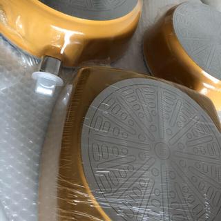 アサヒケイキンゾク(アサヒ軽金属)のアサヒ軽金属 オールパンゼロ(L)(S)&ローストパン(L)/マンゴー色(鍋/フライパン)