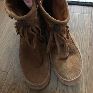ESPERANZA - エスペランサ ブーツ ショート 靴 モカシン 秋 冬