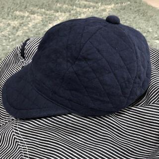 ムジルシリョウヒン(MUJI (無印良品))の無印良品 キッズ 帽子 秋冬 キャスケット 54センチ(帽子)