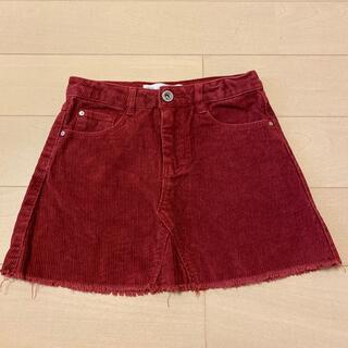 ザラキッズ(ZARA KIDS)のコーデュロイスカート(スカート)