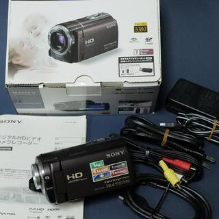 SONY - SONY デジタルHDビデオカメラレコーダー HDR-CX590V(T)