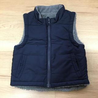 ムジルシリョウヒン(MUJI (無印良品))の無印 中綿ベスト 90(ジャケット/上着)