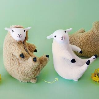フェリシモ(FELISSIMO)のフェリシモ 六甲山牧場 ひつじ 羊の毛刈りぬいぐるみ(ぬいぐるみ)