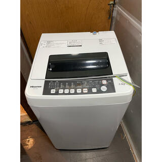215 Hisense 5.5Kg洗濯機 HW-T55C 2018年製