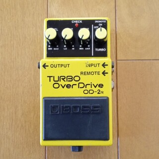BOSS TURBO OverDrive OD-2R(エフェクター)